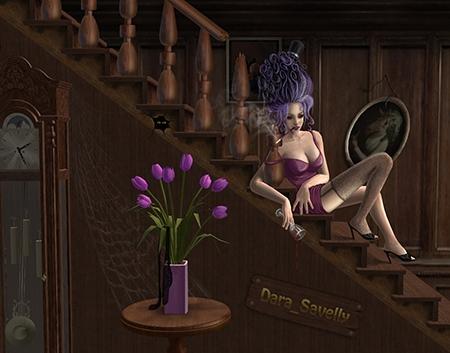 art-violet-by-dara-savelly