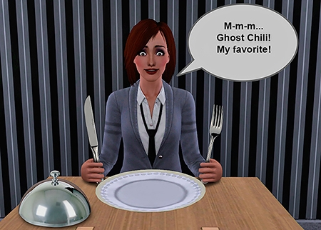 comics ghost chili sims 3 darasims