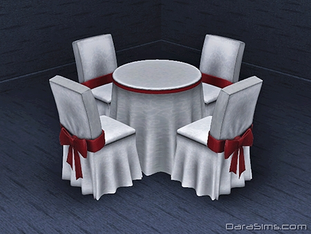 festive dining set sims 3