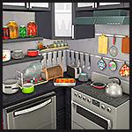 Кухонный декоративный набор