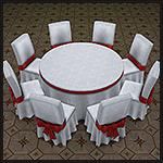 Круглые столы на 6 и 8 мест