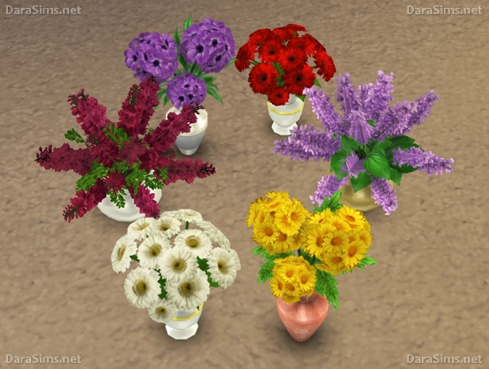 sims 4 flower set 2 by dara savelly