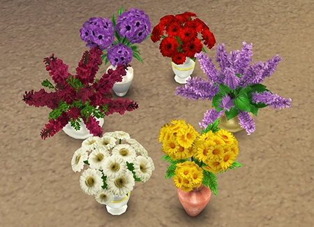 sims 4 flower set 2 by dara savelly-mini
