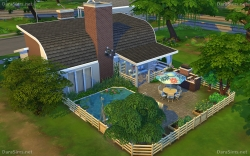 family house sims 4