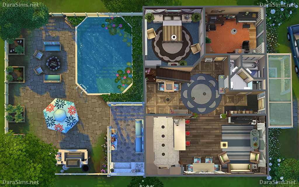 Sims 4 Spa Room