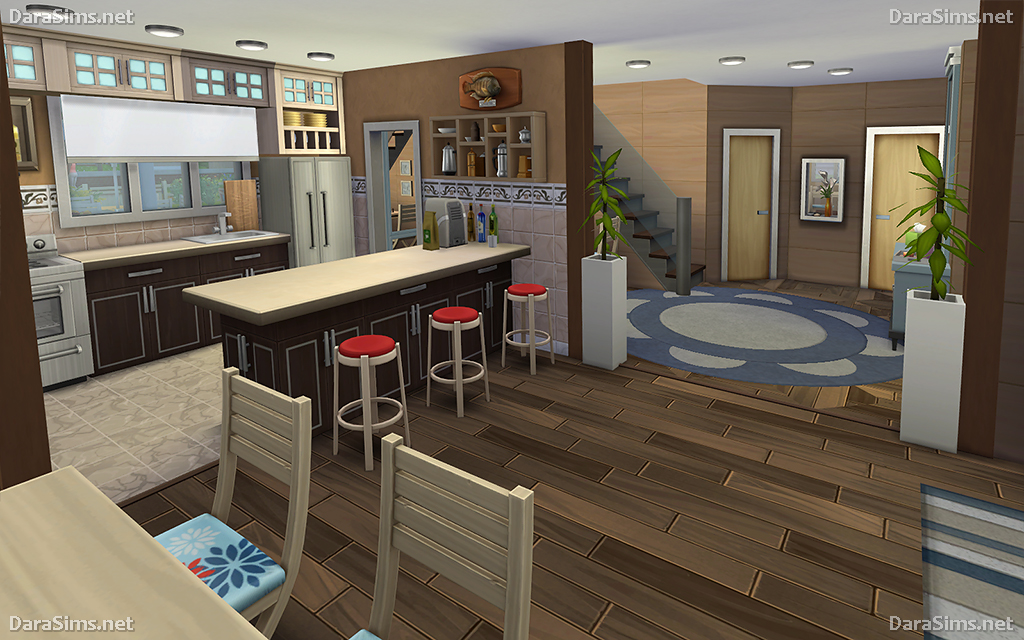 Family Corner House For Sims 4 Nocc Darasims Net
